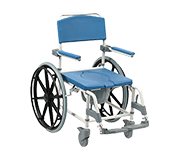 "22"" Bariatric Shower Commode Chair"