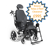 Deluxe Tilt In Space Wheelchair
