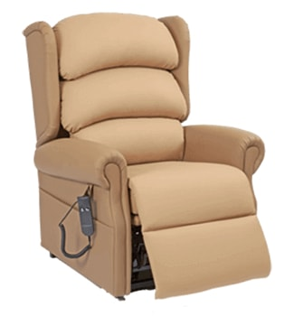 Riser recliner chairs and high seat chairs hire