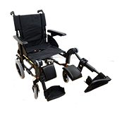 Adult Wheelchair with elevating legrests