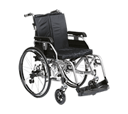 Deluxe Adult Suspension Wheelchair