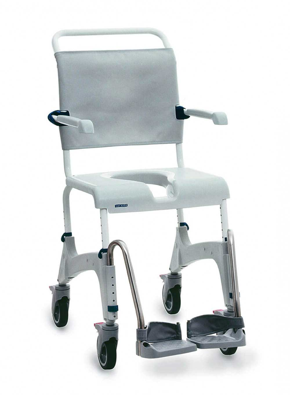 Adjustable Height Showerchair Commode for hire or sale