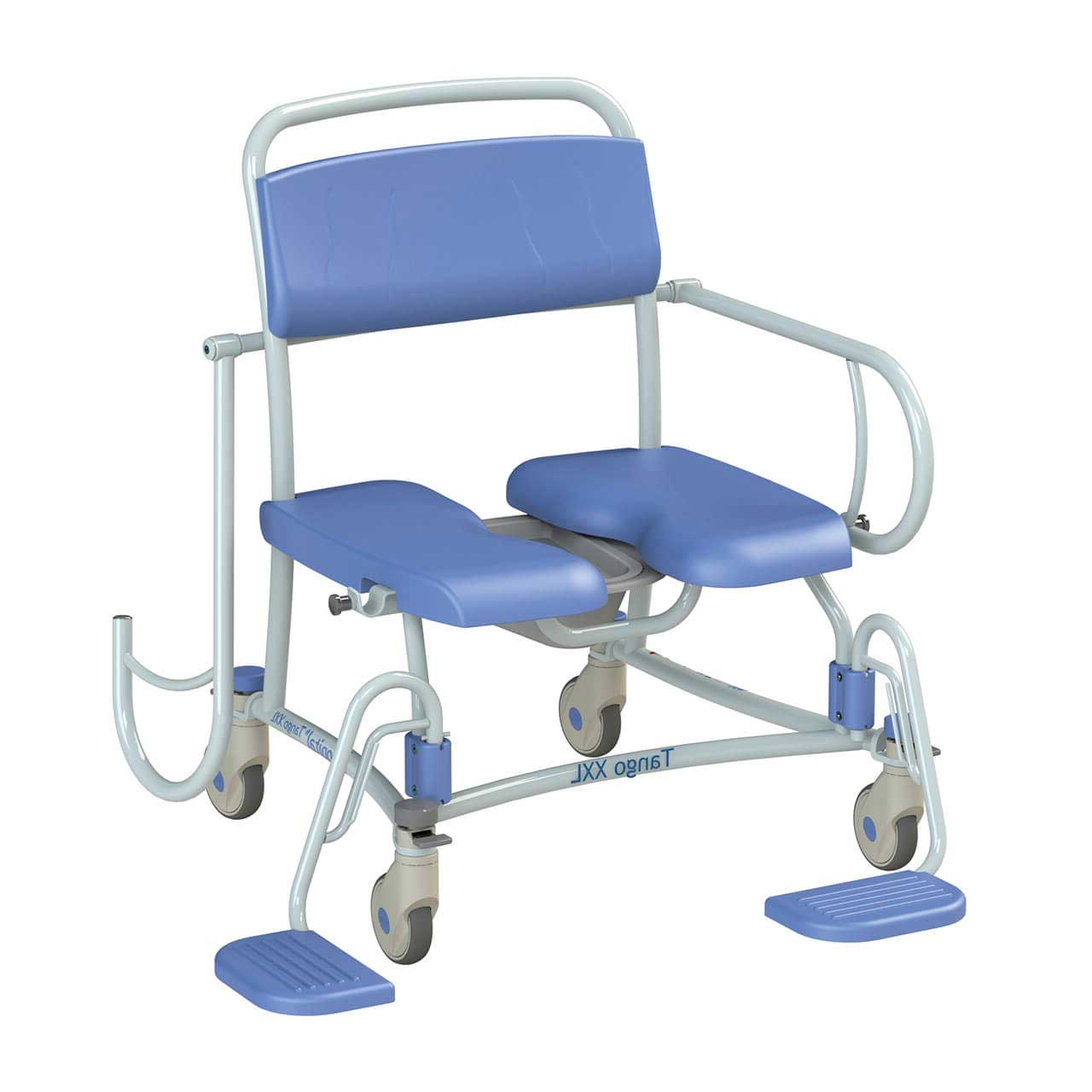 Bariatric XXL Shower Commode Chair for hire or sale