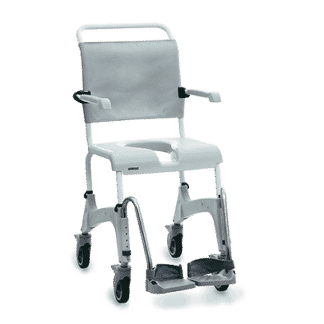 Height Adjustable Shower Commode Chair