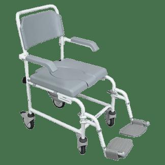 Aidapt Bewl Basic Shower Commode Chair