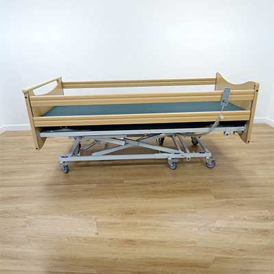 Wooden Headboard, footboard and rails only available for purchase