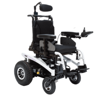 The Jazzy Sparky is a paediatric powerchair