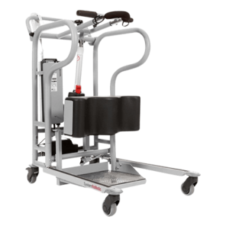 Standaid is a mobile sit-to-stand lift which has been developed