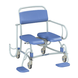 The Lopital Tango XXL is a shower commode chair