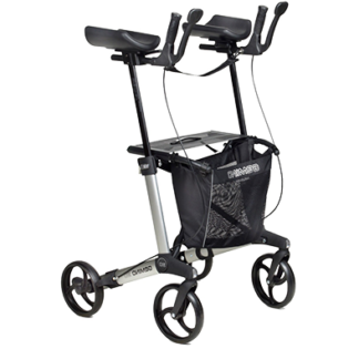 Lightweight Rollator with Forearm Supports